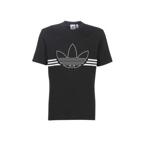 Adidas OUTLINE TRF men's T shirt in Black