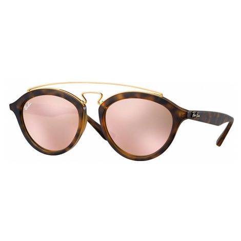 Ray-Ban Rb4257 gatsby II Women Sunglasses Lenses: Pink, Frame: Tortoise - RB4257 60922Y 53-19
