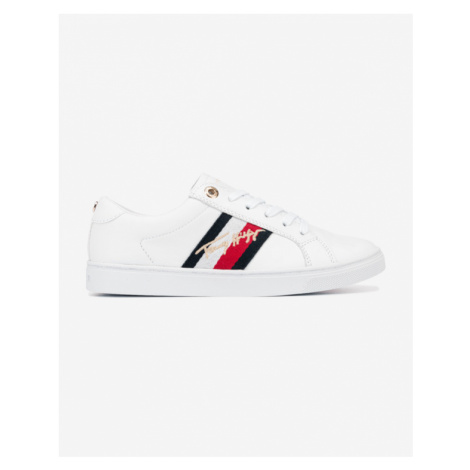Tommy Hilfiger Signature Cupsole Sneakers White