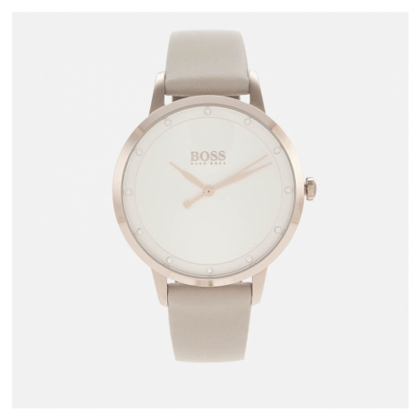 BOSS Hugo Boss Women's Twilight Leather Strap Watch - Rouge/SWH
