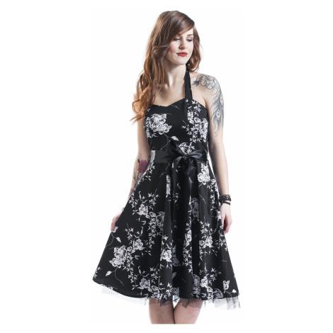 H&R London - White Floral - Dress - black-white