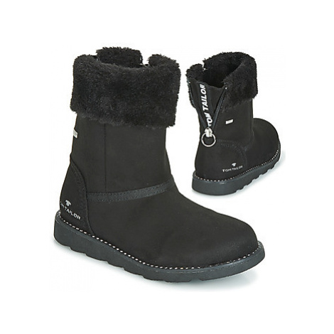 Tom Tailor - girls's Children's Mid Boots in Black