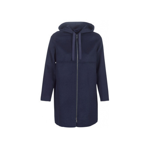 Benetton SACRIPANE women's Coat in Blue United Colors of Benetton