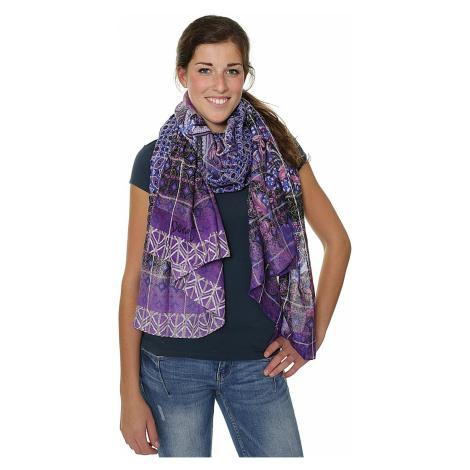 scarf Desigual 17WAWFC8/Rectangle Boho - 3080/Rio Red