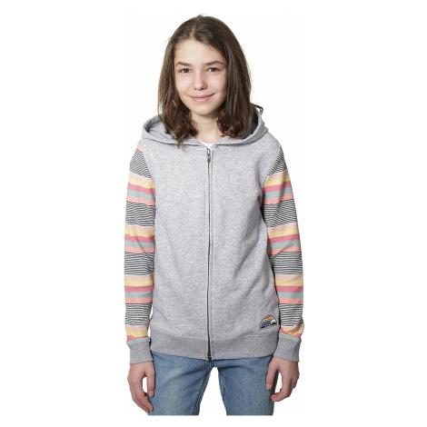 sweatshirt Roxy Dance To The Music Zip - SGRH/Heritage Heather