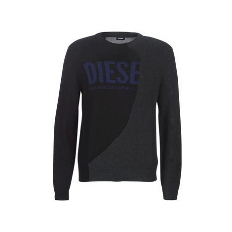 Diesel K HALF men's Sweater in Black