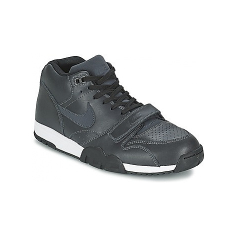 Nike AIR TRAINER 1 MID men's Shoes (Trainers) in Black