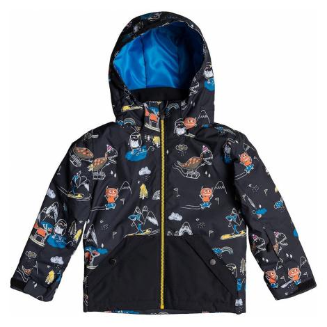 jacket Quiksilver Little Mission - KVM6/Black Snow Party - kid´s