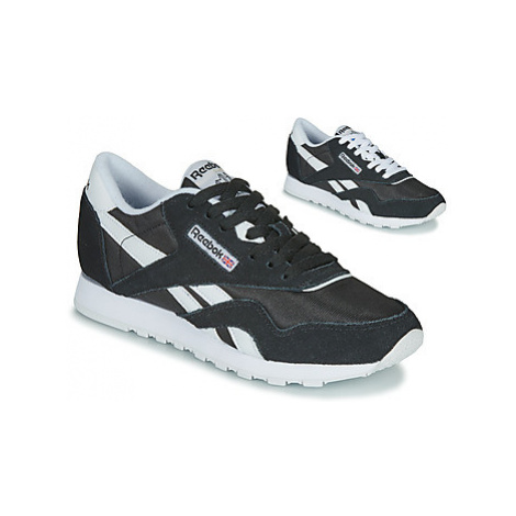 Reebok Classic CL NYLON women's Shoes (Trainers) in Black