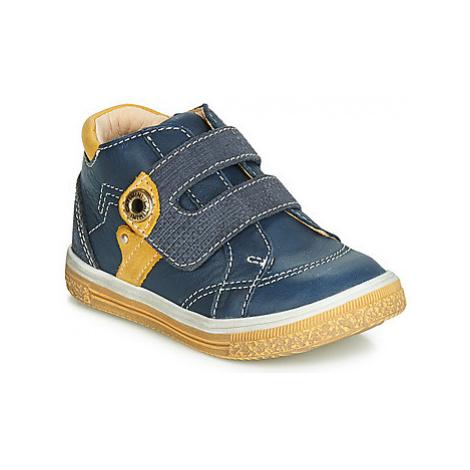 Catimini BICHOU boys's Children's Shoes (High-top Trainers) in Blue