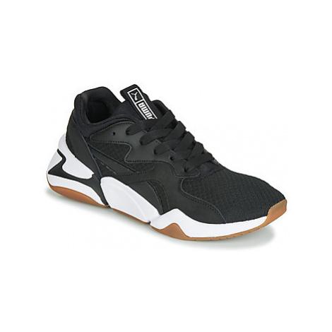 Puma WN NOVA 90'S BLOC.BL-BL women's Shoes (Trainers) in Black