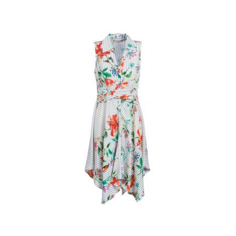 Derhy FLANELLE women's Dress in Multicolour