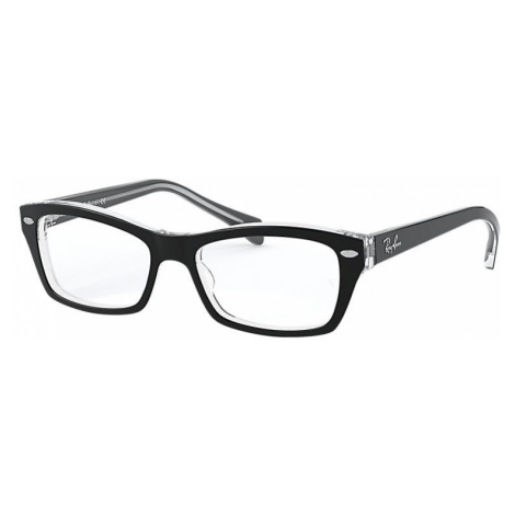 Ray Ban Rb1550 Unisex Optical Lenses: Multicolor, Frame: Black - RB1550 3529 48-15