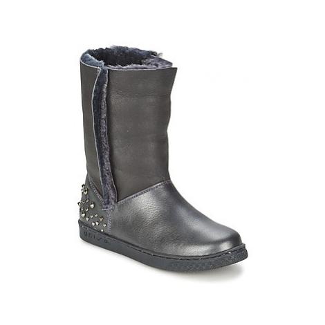 Unisa NILL girls's Children's Mid Boots in Black