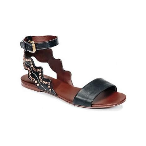 See by Chloé SB30112 women's Sandals in Black