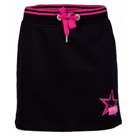 Lewro VASJA black - Girls' skirt