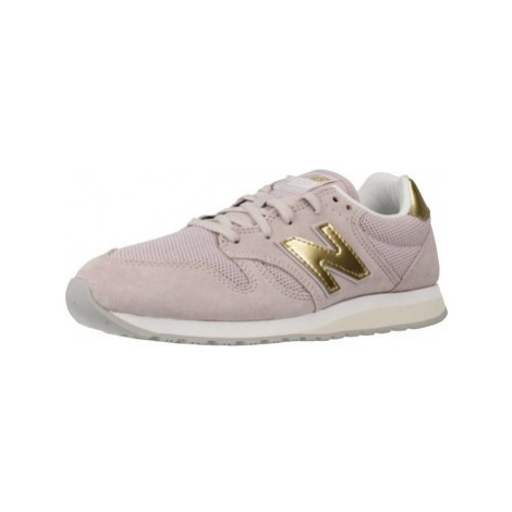 New Balance WL520 women's Shoes (Trainers) in Purple