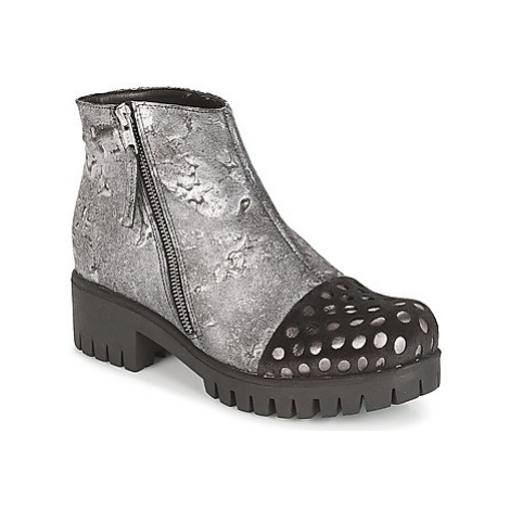 Papucei YLALANA women's Mid Boots in Silver