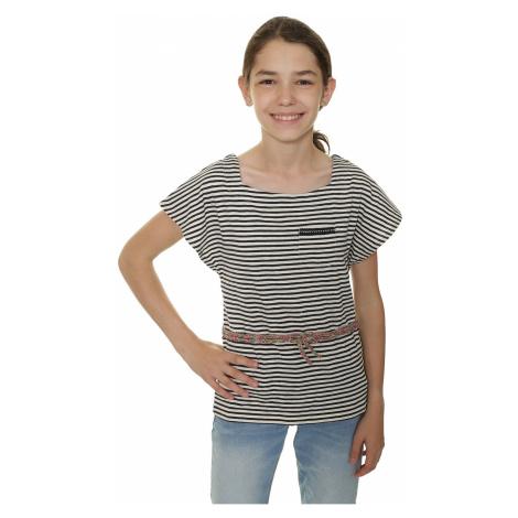 T-Shirt Roxy Evening Sun - WCD6/Pop Stripes Combo Sand Piper