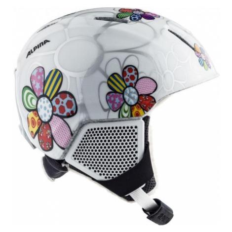 Alpina Sports CARAT LX white - Kids' ski helmet