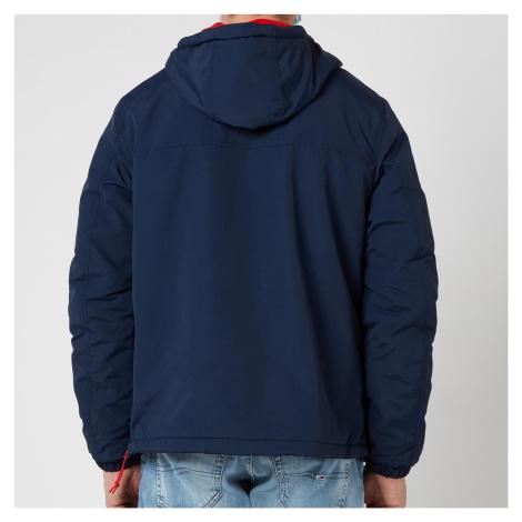 Tommy Jeans Men's Solid Popover Jacket - Twilight Navy Tommy Hilfiger
