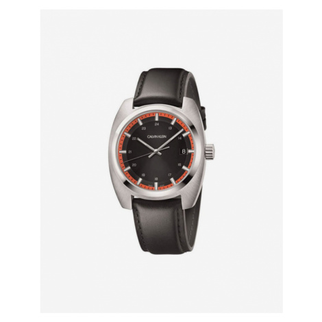 Calvin Klein Achieve Watches Brown Silver