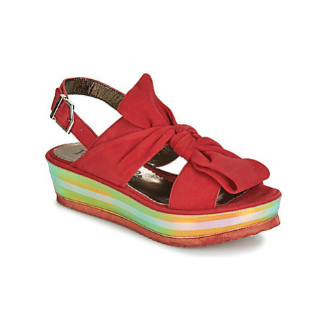Papucei CONDE women's Sandals in Red