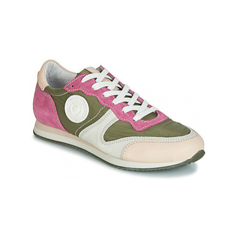 Pataugas IDOL/MIX women's Shoes (Trainers) in Kaki