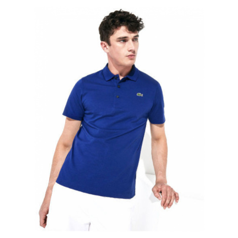 Lacoste L1230-S2P Men s S/S polo blue - Men's polo shirt