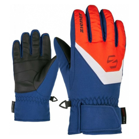 Ziener LORIK JR blue - Kids' gloves