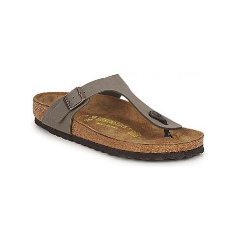Birkenstock GIZEH women's Flip flops / Sandals (Shoes) in Grey