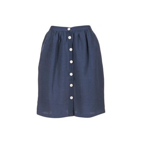 Blue a-line skirts