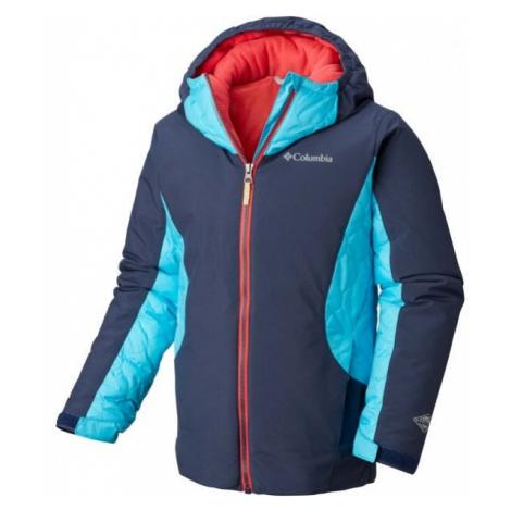 Columbia WILD CHILD JACKET blue - Kids' water resistant jacket