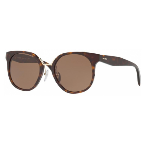 Prada Woman PR 17TS - Frame color: Tortoise, Lens color: Brown, Size 53-20/140