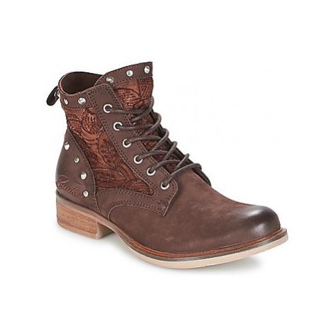 Bunker ROSSI women's Mid Boots in Brown