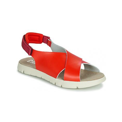 Camper MIRA girls's Children's Sandals in Red
