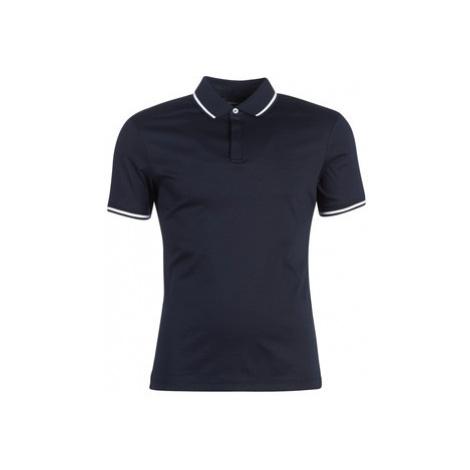 Emporio Armani YAROULI men's Polo shirt in Blue