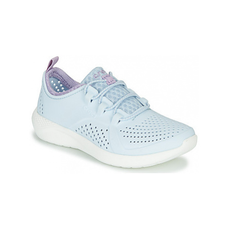 Crocs LITERIDE PACER K girls's Children's Shoes (Trainers) in Blue