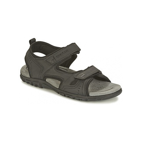 Geox S.STRADA A men's Sandals in Black