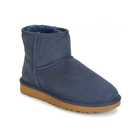 UGG CLASSIC MINI II women's Mid Boots in Blue