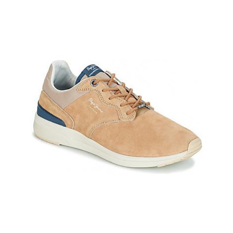 Pepe jeans JAYKER DUAL D-LIMIT men's Shoes (Trainers) in Beige
