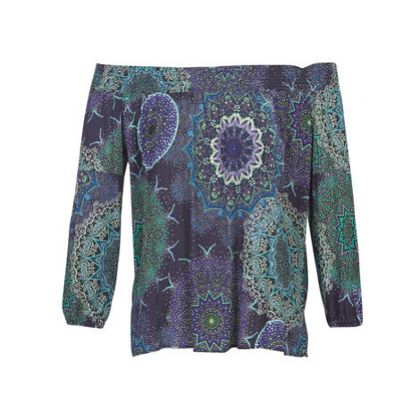 Desigual AMANDINE women's Blouse in Blue