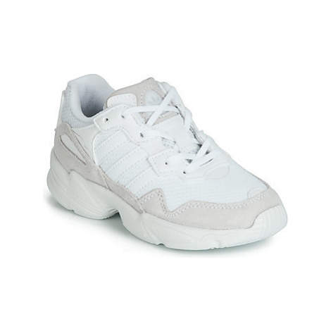 Adidas YUNG-96 C girls's Children's Shoes (Trainers) in White