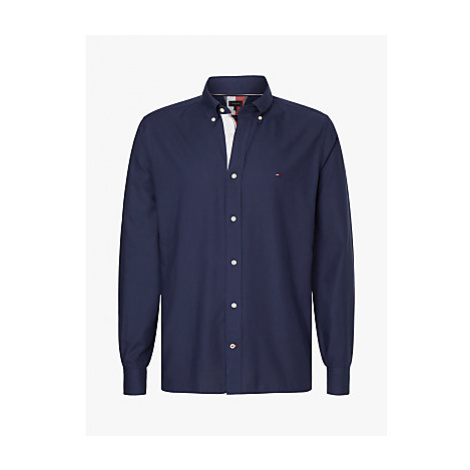 Tommy Hilfiger Contrast Trim Lightweight Oxford Shirt