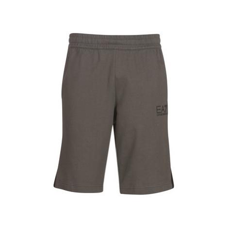 Emporio Armani EA7 TRAIN LOGO SERIES TAPE men's Shorts in Grey