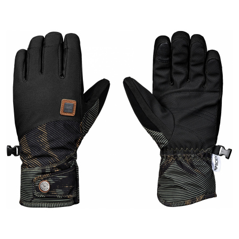glove Roxy Vermont - GPH2/Four Leaf Clover/Swell Flowers - women´s