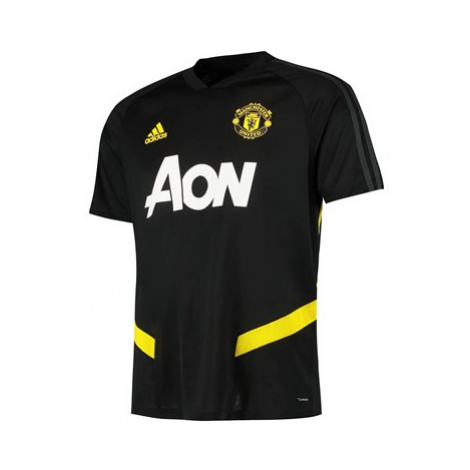 Manchester United Training Jersey - Black Adidas