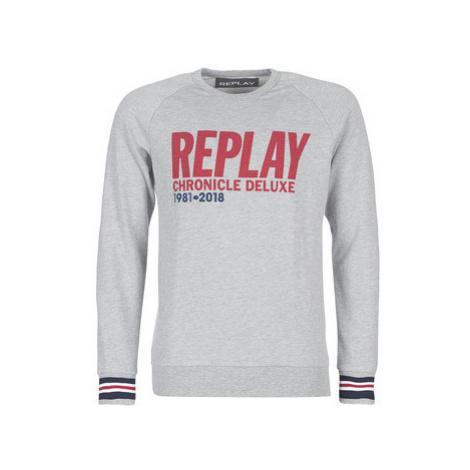 Replay - men's Sweatshirt in Grey