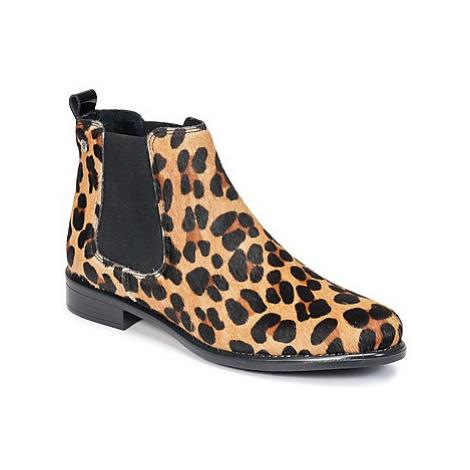Betty London HUGUETTE women's Mid Boots in Brown