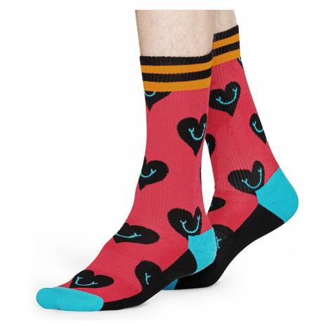 socks Happy Socks Athletic Smiley Hearth - ATSHE27-3500